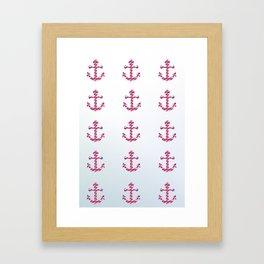 Anchor Tribe Framed Art Print