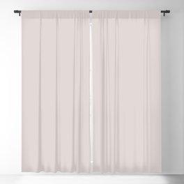 Off White Hint of Lilac Solid Color Parable Farrow and Ball Great White 2006 Blackout Curtain