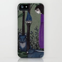 There is a Place in the Woods... iPhone Case