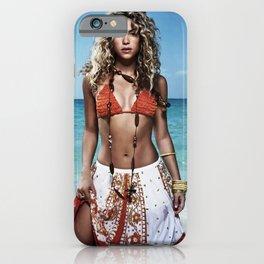 ShakiraPoster Swimming Hawai iPhone Case