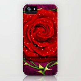 Dangerous Rose  iPhone Case