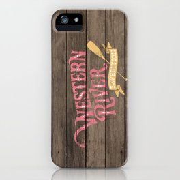 Western River Expedition iPhone Case