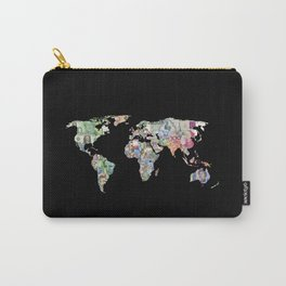 world currency map Carry-All Pouch