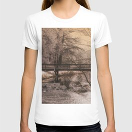 Dream time winter landscape T-shirt