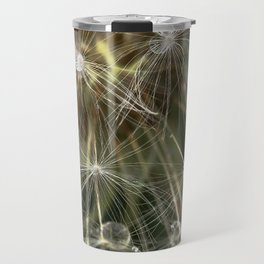 Extreme Macro image of a Dandelion Seed head Travel Mug