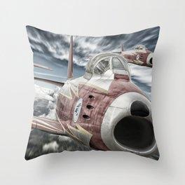 ASCUA aerobatic team Throw Pillow