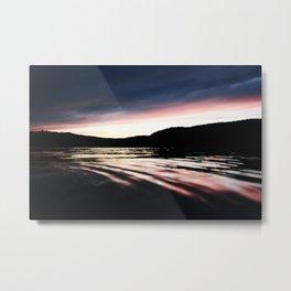 The River Sunset... Metal Print