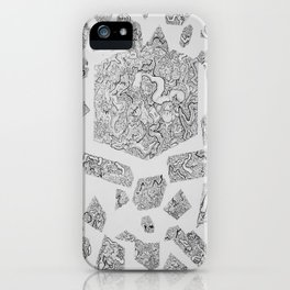Organised Chaos iPhone Case