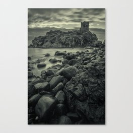 Kinbane Castle III Canvas Print