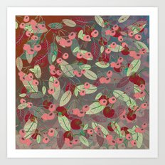 Cherry Song (Oriental) Art Print