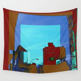 iron clad in color Wall Tapestry
