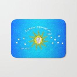 The Conch Republic Flag Bath Mat