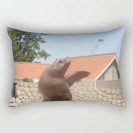 Seal Waving Rectangular Pillow