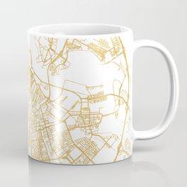 AMSTERDAM NETHERLANDS CITY STREET MAP ART Coffee Mug