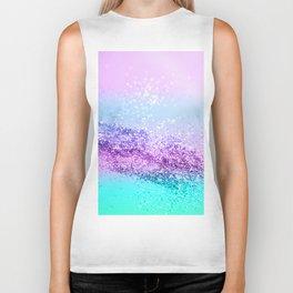 Unicorn Girls Glitter #14 #shiny #decor #art #society6 Biker Tank