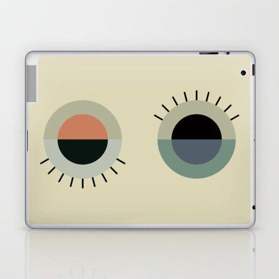day eye night eye Laptop & iPad Skin