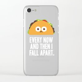 Taco Eclipse of the Heart Clear iPhone Case