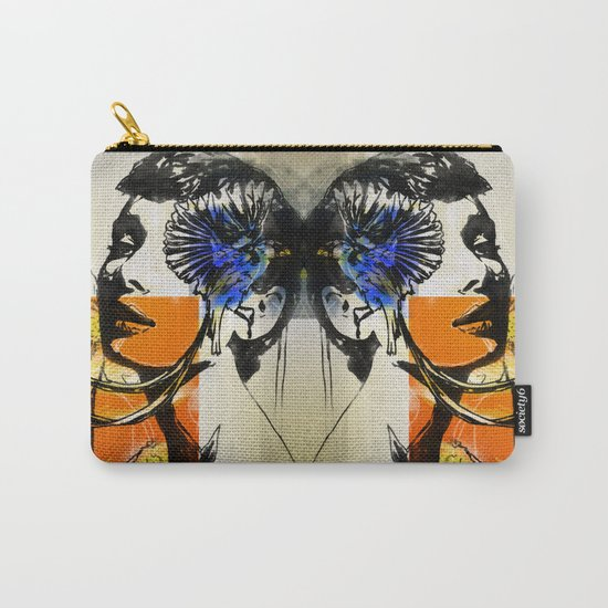 Audrey with marguerite Carry-All Pouch
