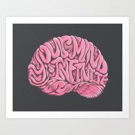 Your Mind is Infinite Art Print