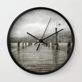Bluebird Pier, Coniston Wall Clock