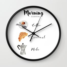 Morning essential Wall Clock
