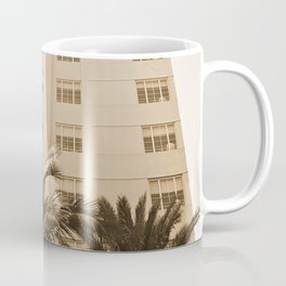 Beach hotel Coffee Mug