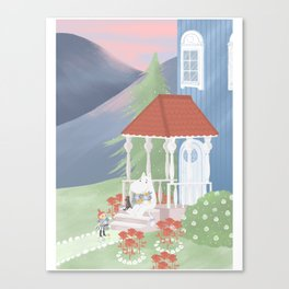 Spring in Moominvalley Canvas Print