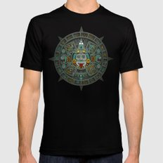 Stone of the Sun II. Black SMALL Mens Fitted Tee