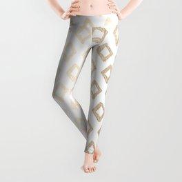 Gold Diamond Design II Leggings