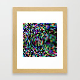POP MATRIX Framed Art Print