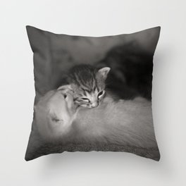 2 Weeks Old Throw Pillow