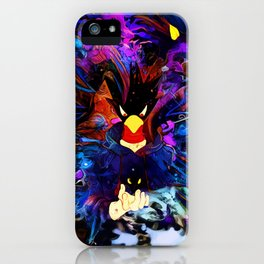 Shadow crow iPhone Case
