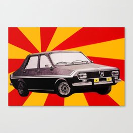 Socialist car Dacia 1300 Canvas Print