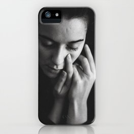 Touch; lack iPhone Case