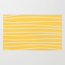 Sunshine Brush Lines Rug