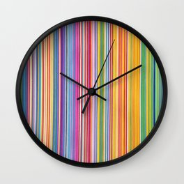 STRIPES 13 Wall Clock