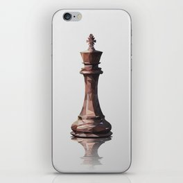 king low poly iPhone Skin