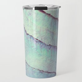 IRIDISCENT SEASHELL MINT by Monika Strigel Travel Mug