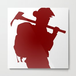 WILDLAND FIREFIGHTER #11 Metal Print