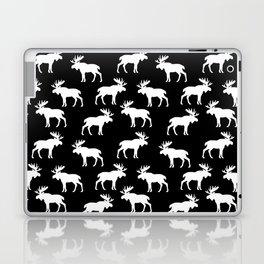 Moose Trot // Black Laptop & iPad Skin