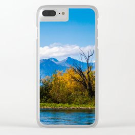 Autumn in Kamchatka Clear iPhone Case