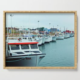 Fishing Pier PEI Serving Tray