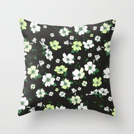 Lovable Flowers 12 Throw Pillow