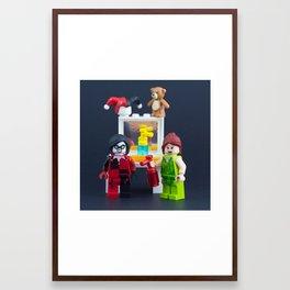 Breaking and Entering Framed Art Print