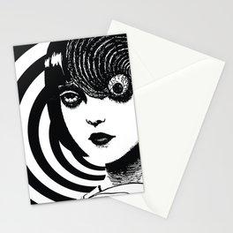 Azami Kurotani - Junji Ito The Spiral Stationery Cards