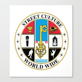 Street Culture Seal Canvas Print