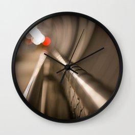 Mirada abstracta Wall Clock