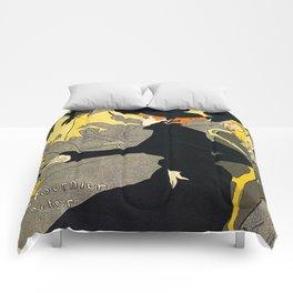Toulouse Lautrec Divan Japonais music hall Comforters
