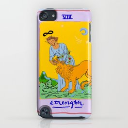 feminine power in tarot iPhone Case