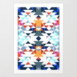 Aztec 5 Art Print